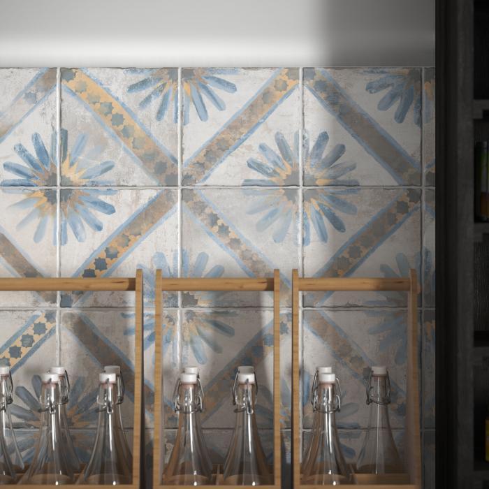 Интерьерные фото плитки из коллекции FS Marrakech