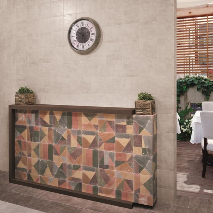 Интерьерные фото плитки из коллекции Cementine - 4