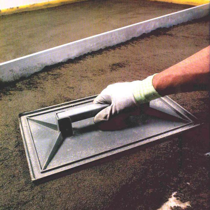 Интерьерные фото плитки из коллекции Составы для изготовления стяжек