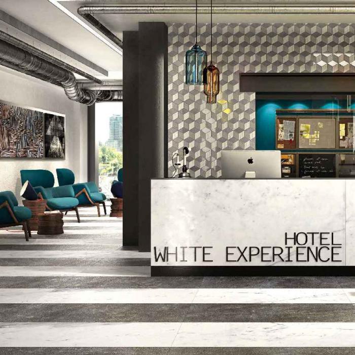 Интерьерные фото плитки из коллекции White Experience Living - 7