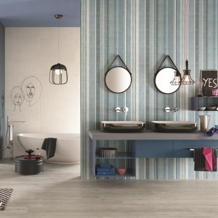 Интерьерные фото плитки из коллекции Couture - 2