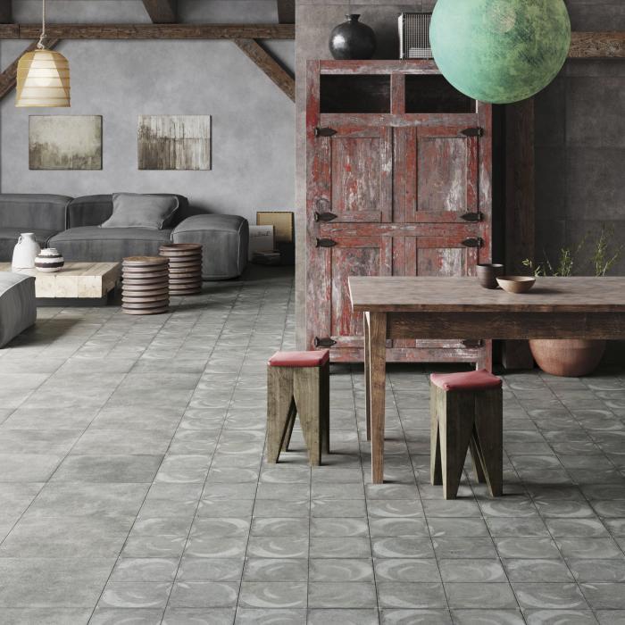Интерьерные фото плитки из коллекции FS Vendome
