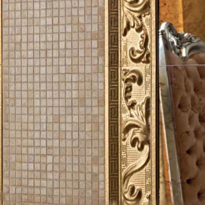 Интерьерные фото плитки из коллекции Palace Living Gold - 8