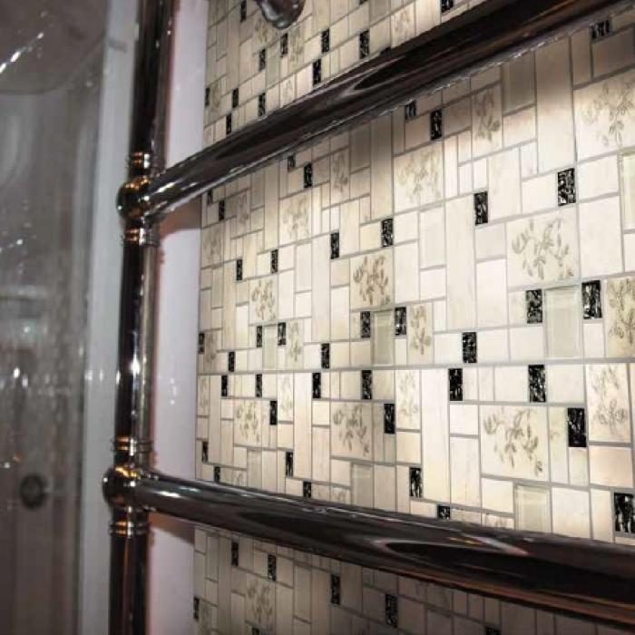 Интерьерные фото плитки из коллекции Hi-Tech