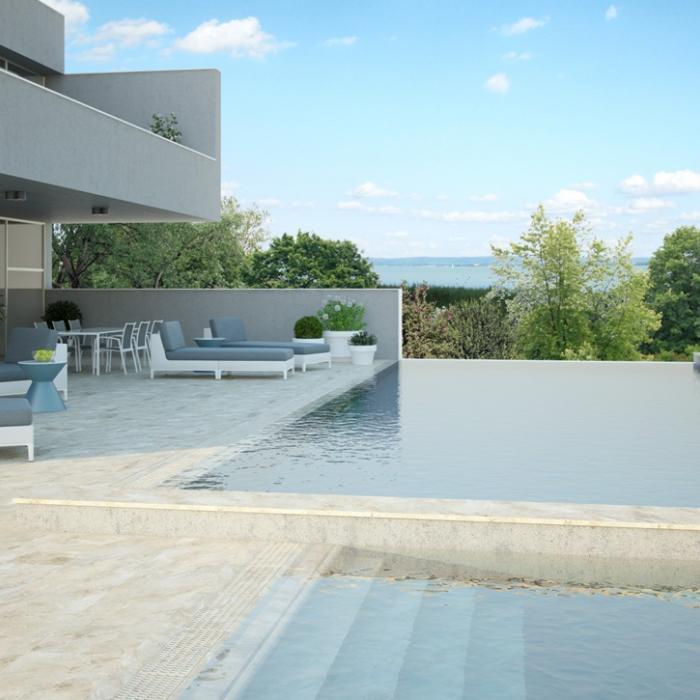 Интерьерные фото плитки из коллекции Pool Solutions - 2