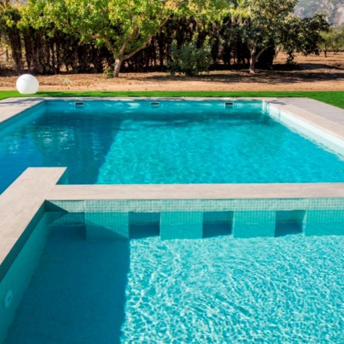 Интерьерные фото плитки из коллекции Pool Solutions - 9
