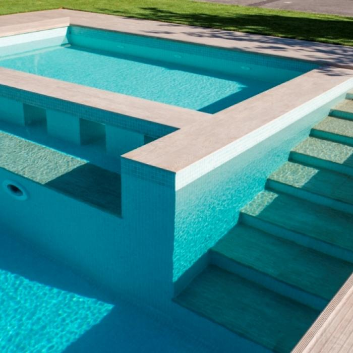 Интерьерные фото плитки из коллекции Pool Solutions - 10