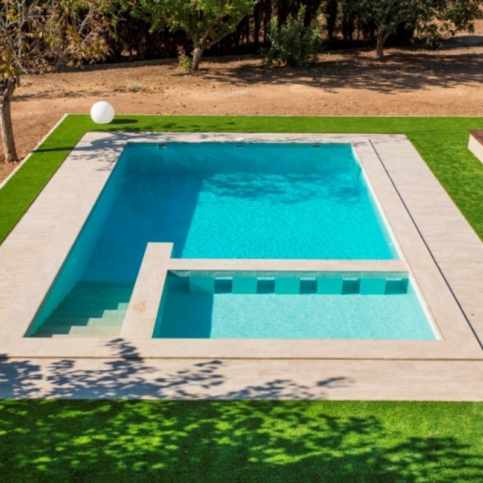 Интерьерные фото плитки из коллекции Pool Solutions - 11