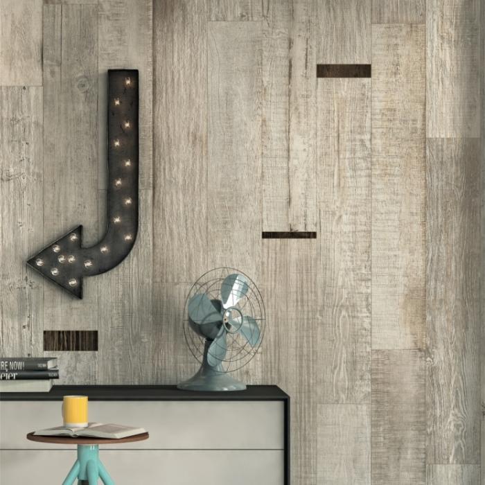Интерьерные фото плитки из коллекции Scrapwood - 6