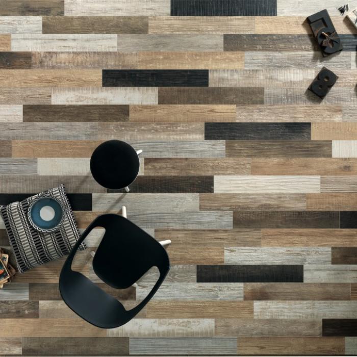Интерьерные фото плитки из коллекции Scrapwood - 24