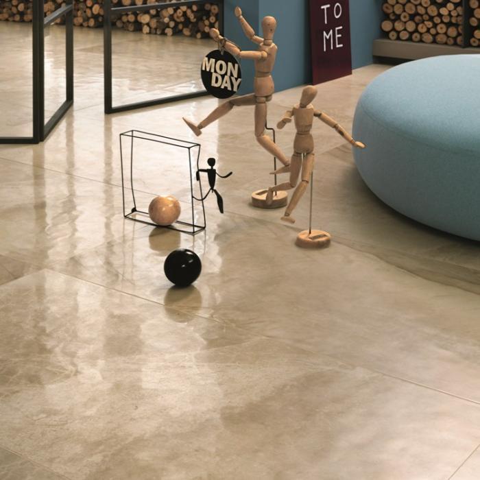 Интерьерные фото плитки из коллекции Beige Experience Floor - 3