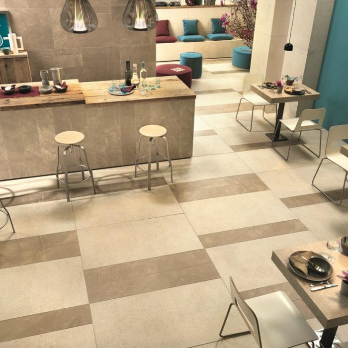 Интерьерные фото плитки из коллекции Beige Experience Floor - 5