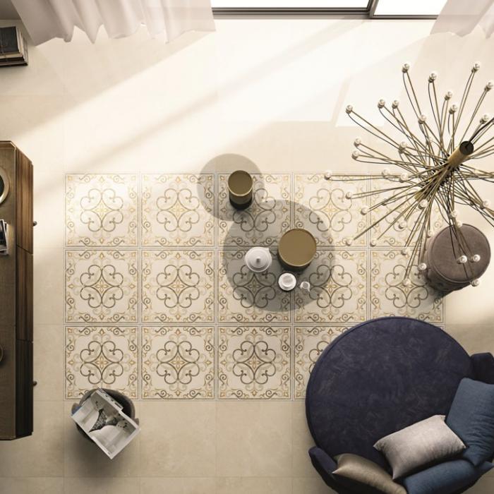 Интерьерные фото плитки из коллекции Beige Experience Floor - 7