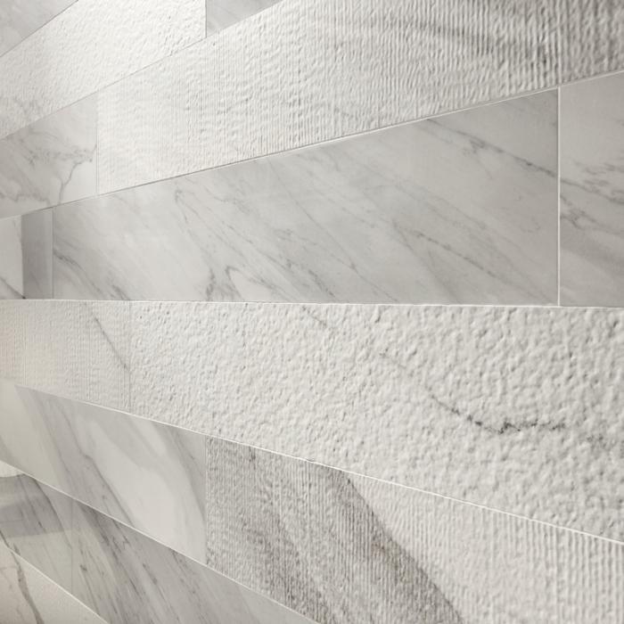 Интерьерные фото плитки из коллекции White Experience