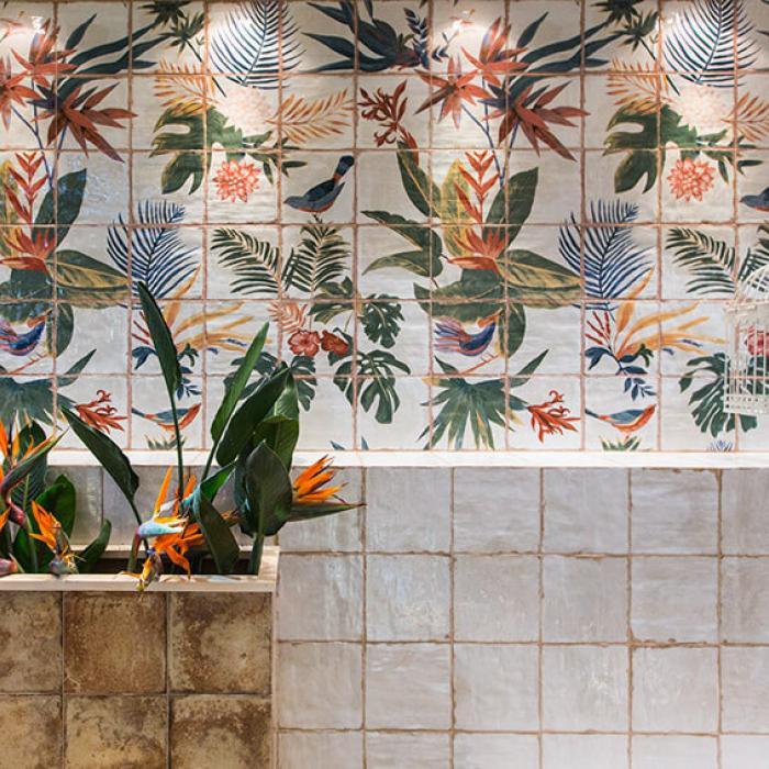 Интерьерные фото плитки из коллекции Livorno