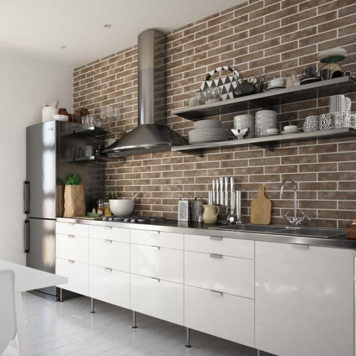Интерьерные фото плитки из коллекции Brick Style - 2