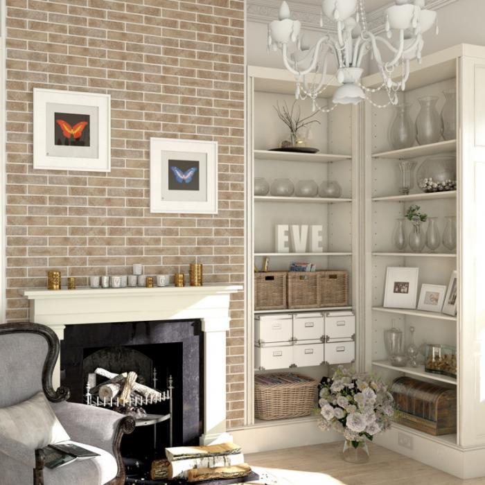 Интерьерные фото плитки из коллекции Brick Style - 3
