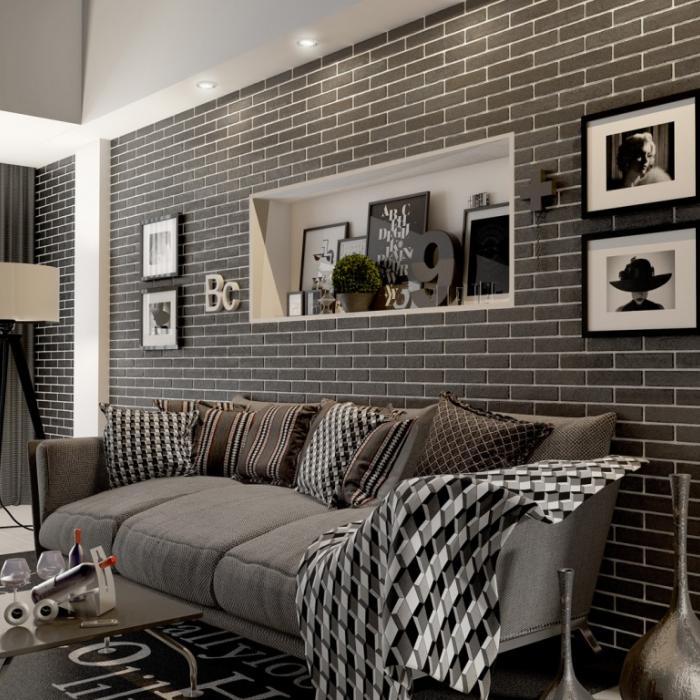 Интерьерные фото плитки из коллекции Brick Style - 5