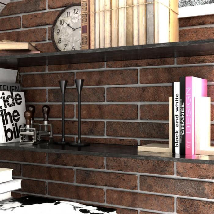Интерьерные фото плитки из коллекции Brick Style - 7