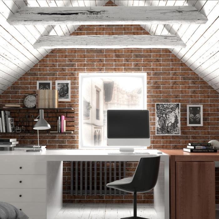 Интерьерные фото плитки из коллекции Brick Style - 8