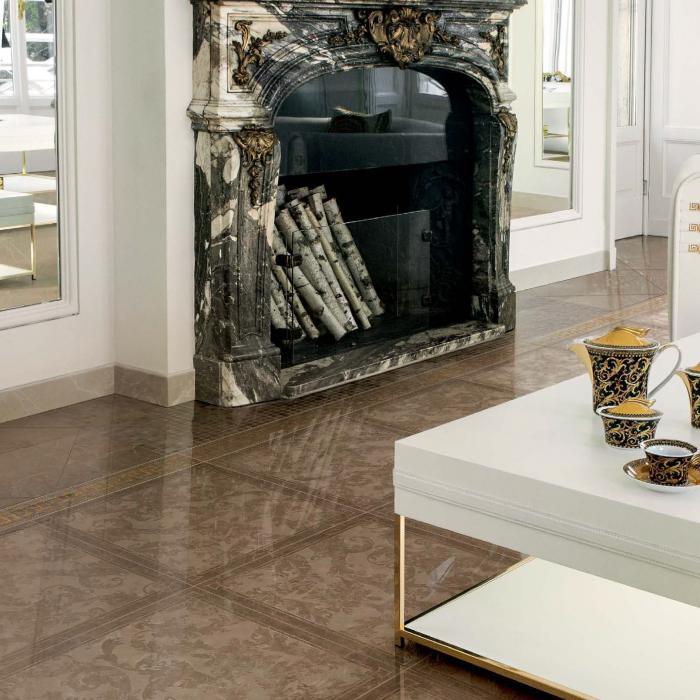 Интерьерные фото плитки из коллекции Marble - 24