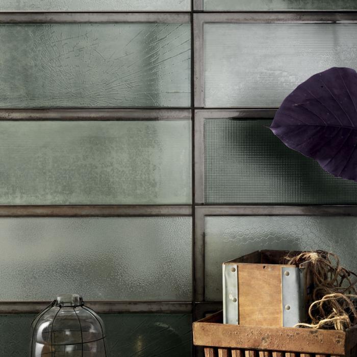 Интерьерные фото плитки из коллекции Industrial Glass - 9