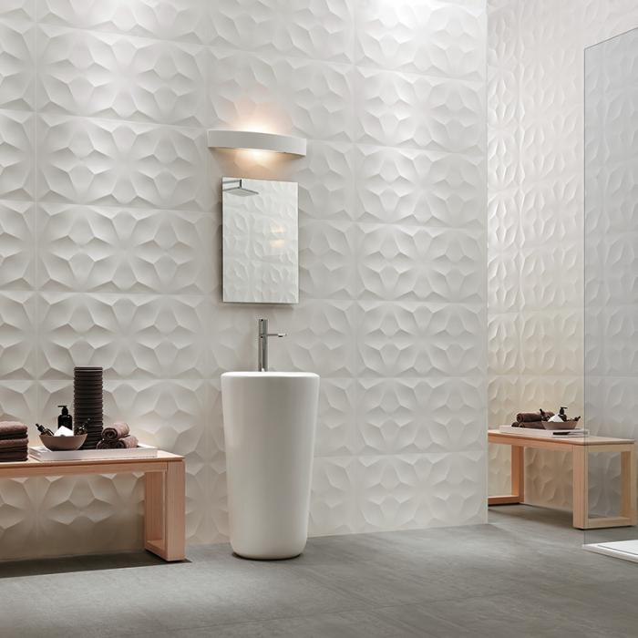 Интерьерные фото плитки из коллекции 3D Wall Design - 2