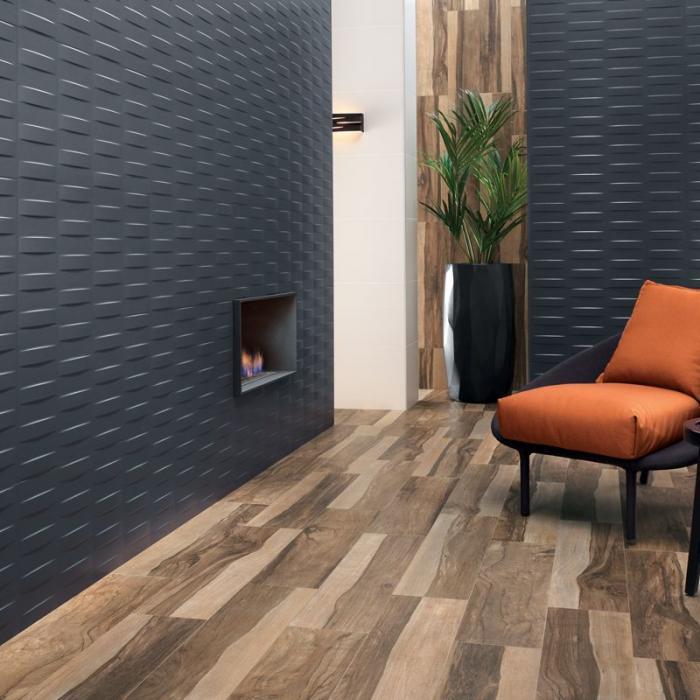 Интерьерные фото плитки из коллекции 3D Wall Design - 5