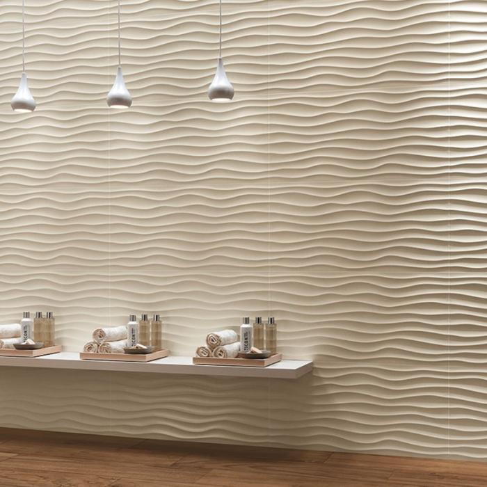 Интерьерные фото плитки из коллекции 3D Wall Design - 4