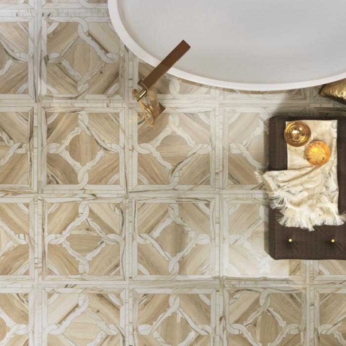 Интерьерные фото плитки из коллекции Marmi Imperiali - 10
