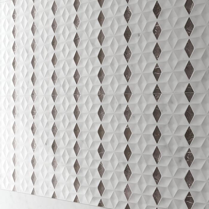 Интерьерные фото плитки из коллекции Lux Experience Wall - 3
