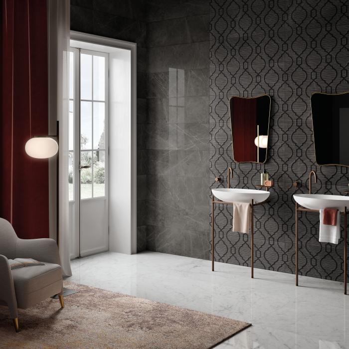 Интерьерные фото плитки из коллекции Lux Experience Wall - 11