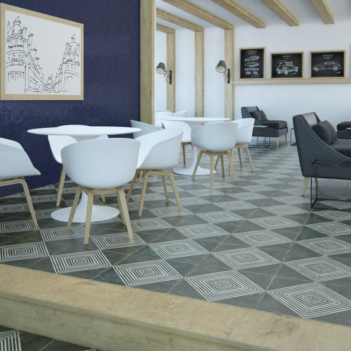 Интерьерные фото плитки из коллекции Argila Vezelay - 2