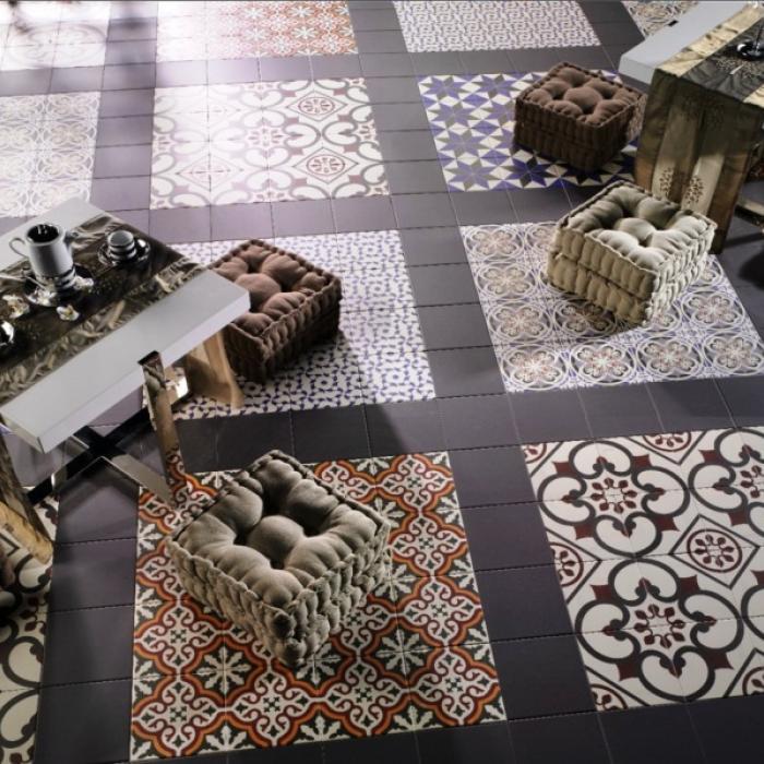 Интерьерные фото плитки из коллекции Victorian - 3